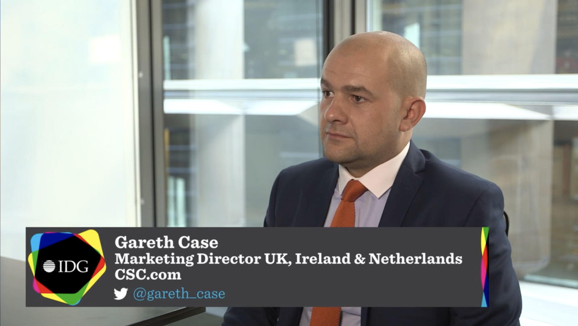 Gareth Case talks to IDG